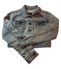 Age 9 New look Girls Cropped Denim Jacket