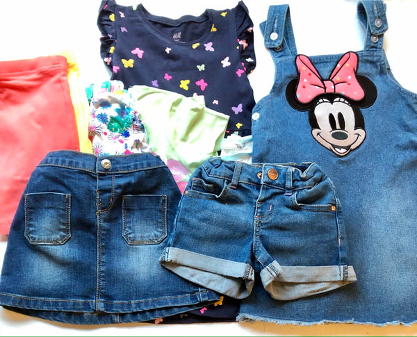 Age 2-3 Bundle of Girls Clothing Including H&M Twins