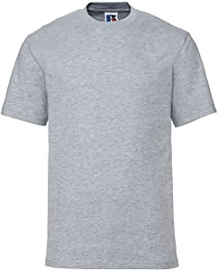 2XL Mens Russell Grey  T-shirt New