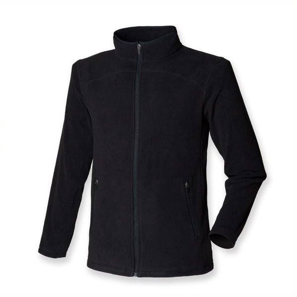 Medium Mens SF 028Micro Fleece Jacket Black New