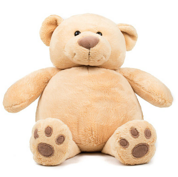 Mumbles Zippie Honey Bear - Plain or Personalised with Embroidery