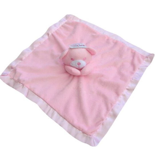 Soft Touch Baby Comforter  - Plain or Personalised with Embroidery