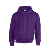 Unisex Purple Gildan Heavy Blend  Hooded Sweatshirt New