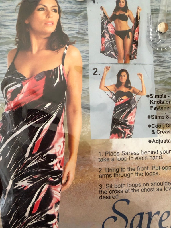 Size 12-14 (Free Size) Pack of 2 Saress Beach dresses  Dress  New
