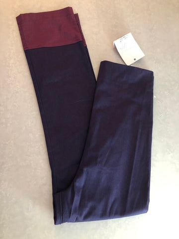 Maternity Size 8-10 Gorgeous Purple Trousers New