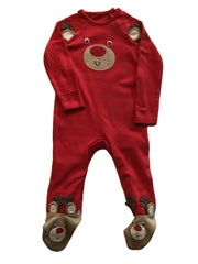 Age 3-6 months Rudolph Baby Gro suit AS New