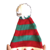 Free Size Elf Ears Knitted Bobble Hat
