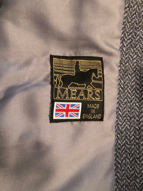 Age 8 Mears Childs Grey Equestrian Hunting Jacket size 28