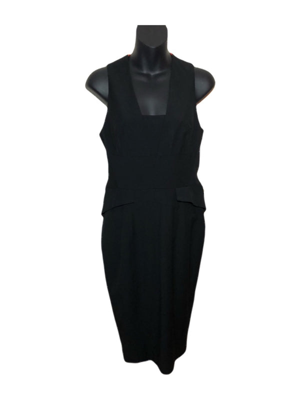 Size 8  Oasis Black  Dress