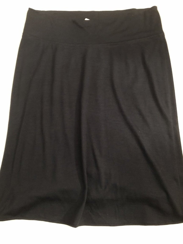 Maternity Size 14 - 16 Black  Skirt Rrp £80 New without Tags