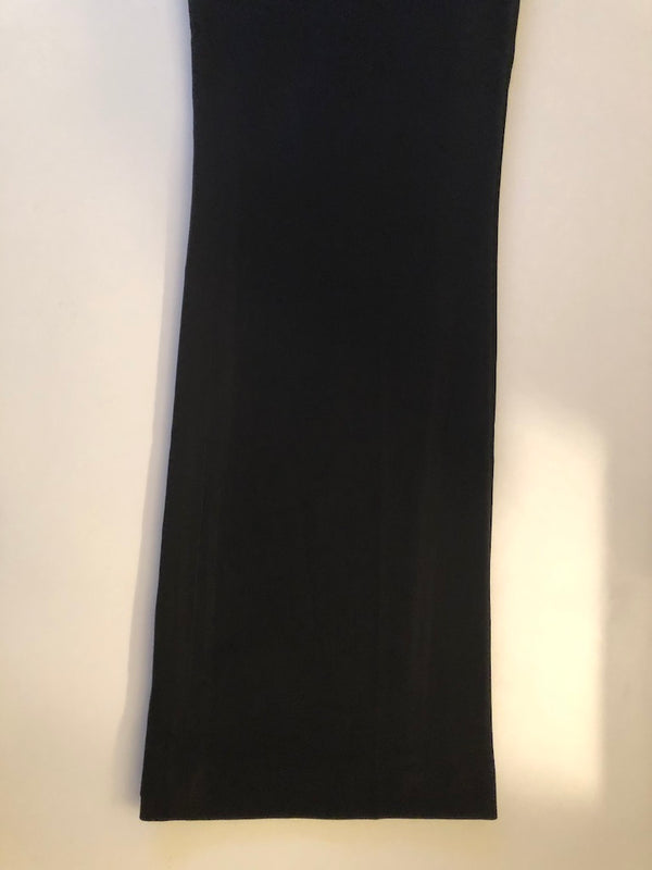 Maternity 14 Mothercare Boot Cut Black Trousers  with Jersey Panel Rrp £27 New without Tags