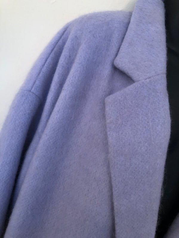 Size 16 Lilac Wool Mix Jacket By New Look New & Tagged Rrp £49.99