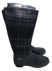 Size 7 Royal Scot Balfour Wellingtons Boots In Navy Tartan