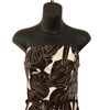 Size 14-16 Coast Brown Flowered Occasion Dress