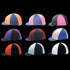 Lycra Riding Hat Covers