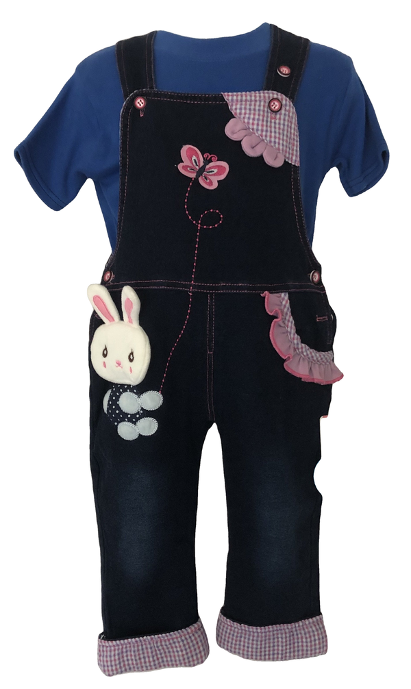 Age 12 Months Cute Girls Dungarees New Tagged