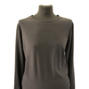 Maternity Size 12  Tete and Tete Black Long Sleeved Top New