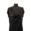Size 20 Black Sequin Top