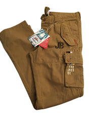 Mens 32L Brown Combat Trousers By Joe Browns New & Tagged