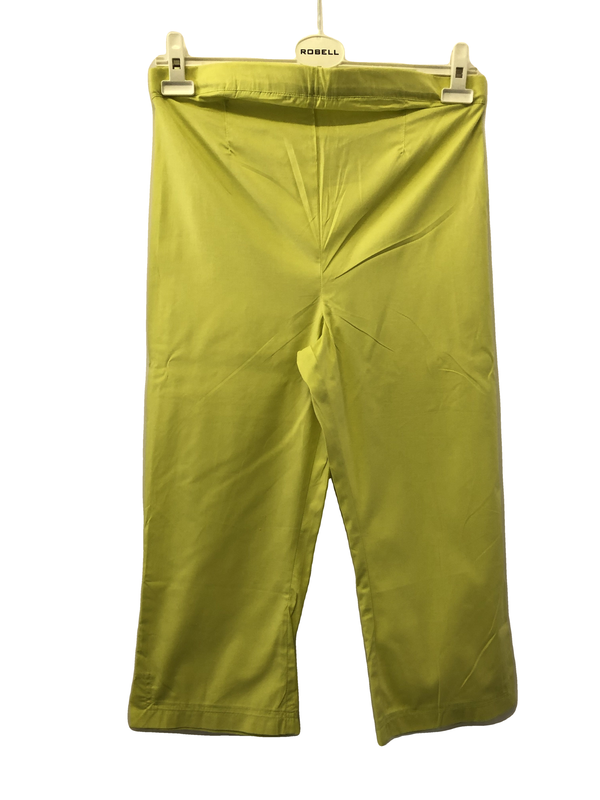 Maternity Size 10 Lime Green 3/4 Trousers New