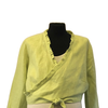 Maternity Size 14  Lime 100% Linen Jacket New & Tagged