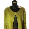 Size 16 Tu Lime Green Soft Cashmere Mix Cardigan  New & Tagged