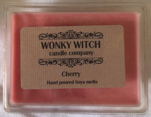 Cherry Essential Oil Hand Poured Vegan Soya Melts
