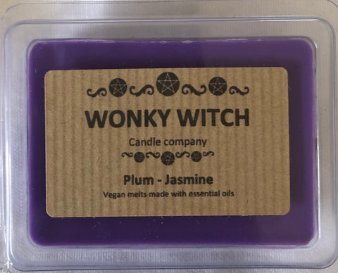 Plum Essential Oil Hand Poured Vegan Soya Melts