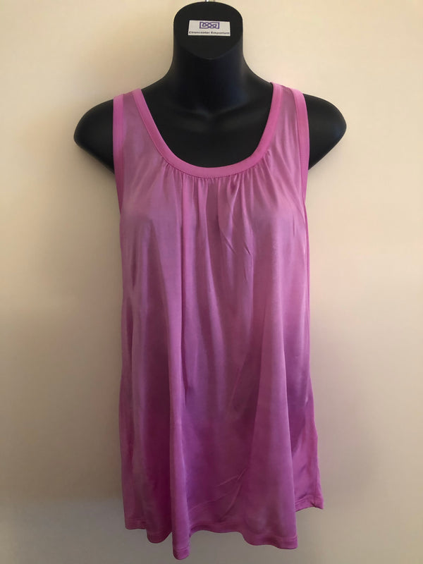 Size 12 Ted Baker Silky Jersey Vest Top Rrp £39 New & Tagged