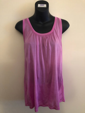 Size 12 Ted Baker Silky Jersey Vest Top Rrp £39 New Tagged