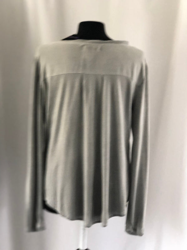 Size 10  AJC Light Grey Soft Long Sleeved Top New & Tagged