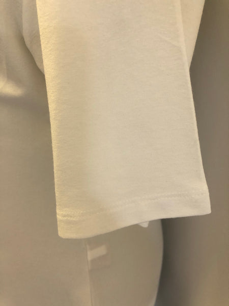 Maternity Size 16 Arabella White Slouch Soft Tshirt Rrp 25 New