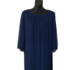 Size 16 Royal Blue Body Flirt Embellished Sheer Lined Dress - New