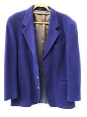 Medium Mens Burton Electric Blue Vintage Wool jacket
