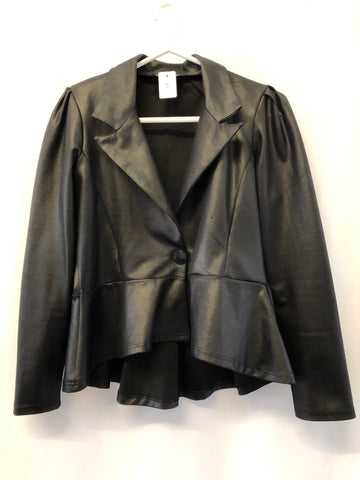 Size 10 Black Jacket by Bold Green