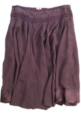 Size 14-16 Noa Noa Purple Lined Midi Skirt