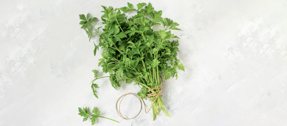 Out Of The Kitchen: How Parsley Could Transform Your Skin