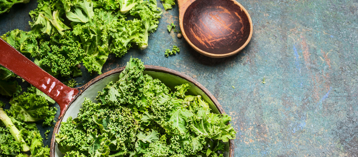 Cooking with Kale is Still on Trend