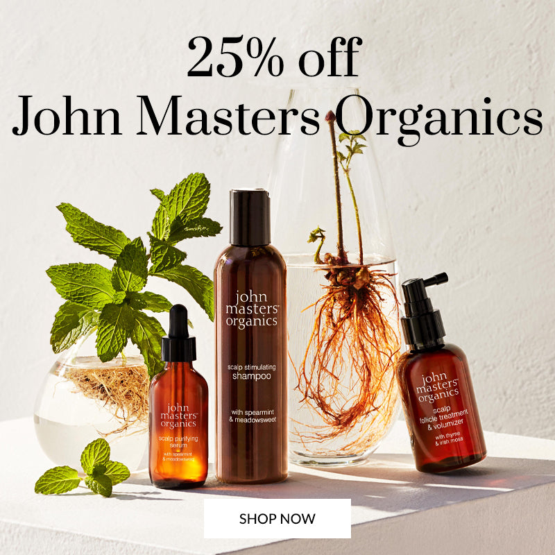 25% off John Masters Organics beauty essentials