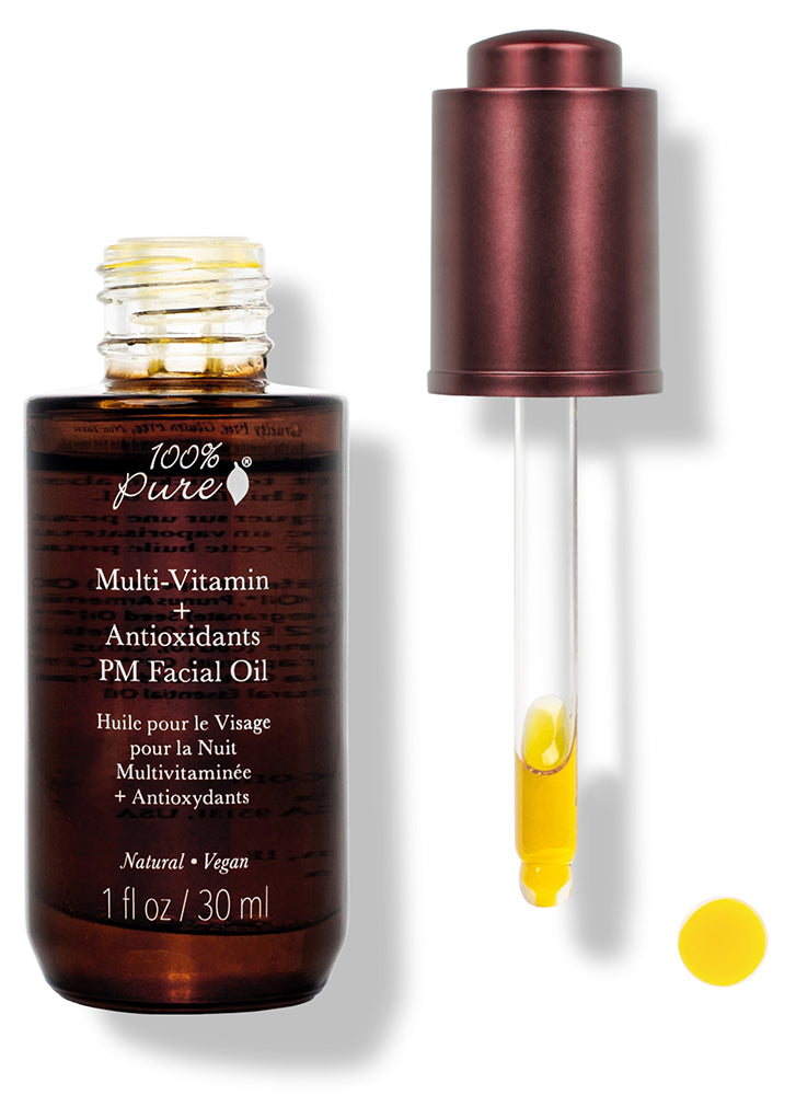 100% Pure Multi Vitamin & Antioxidants PM Facial Oil