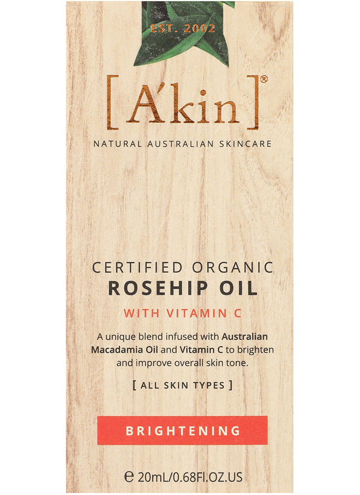 A'kin Brightening Rosehip Oil with Vitamin C