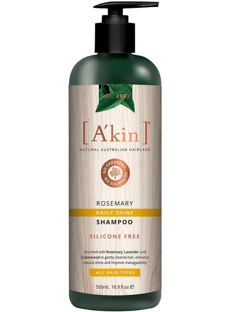A'kin Daily Shine Rosemary Shampoo 500ml