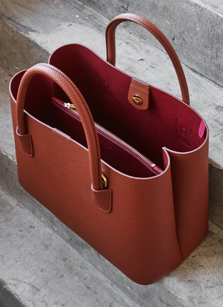 Angela Roi Cher Tote Signet Brown