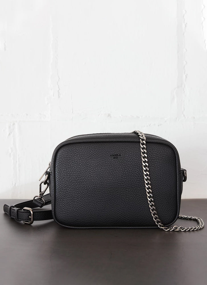 Angela Roi Grace Mini Cross Body Signet Black