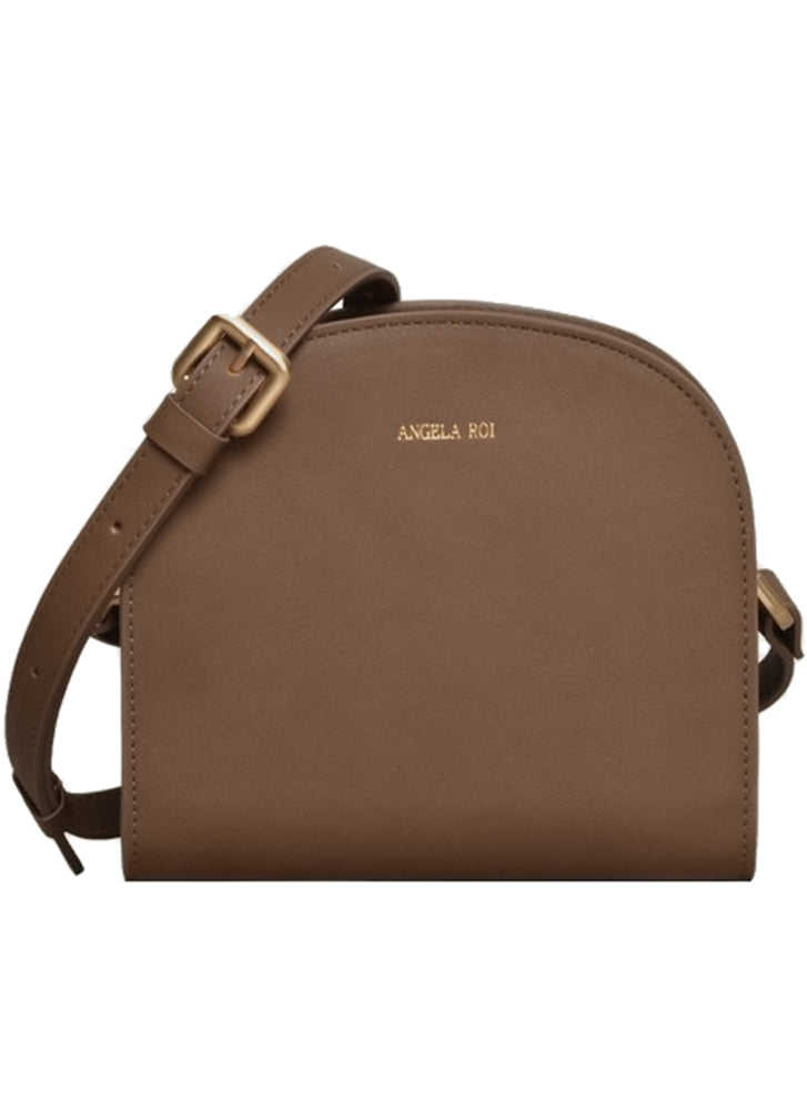 Angela Roi Luna Cross Body Mud Gray