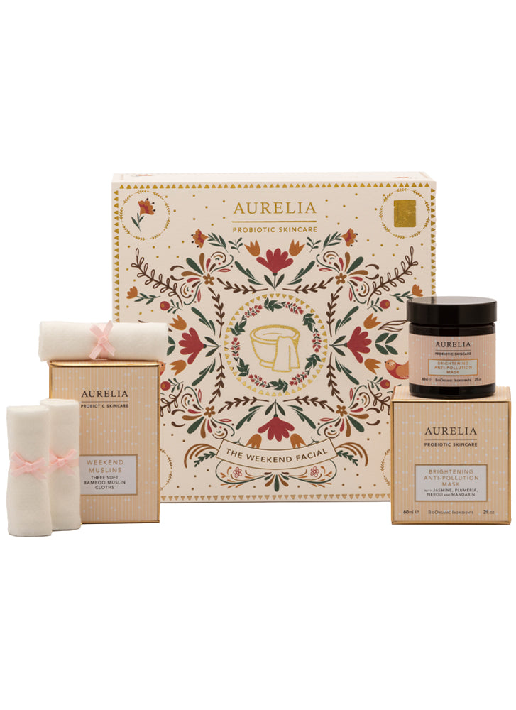 Aurelia Probiotic Skincare The Weekend Facial Gift Set (worth £74)