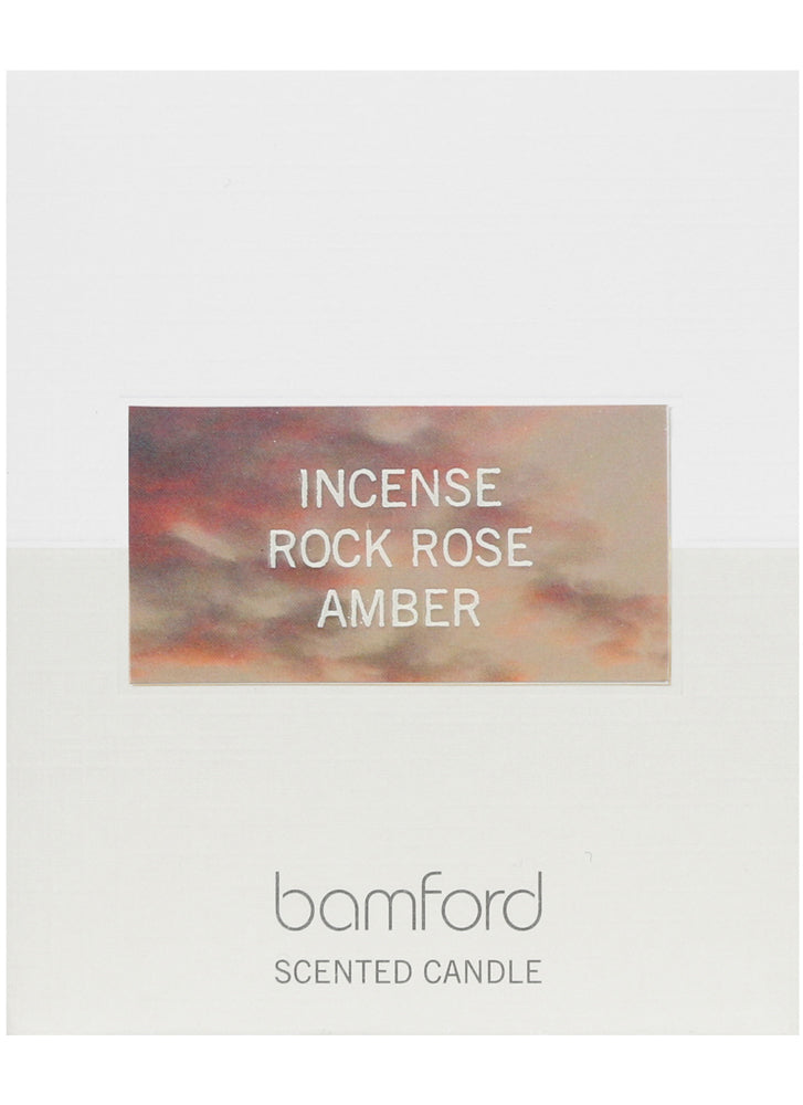 Bamford Incense Rock Rose Amber 1 Wick Candle