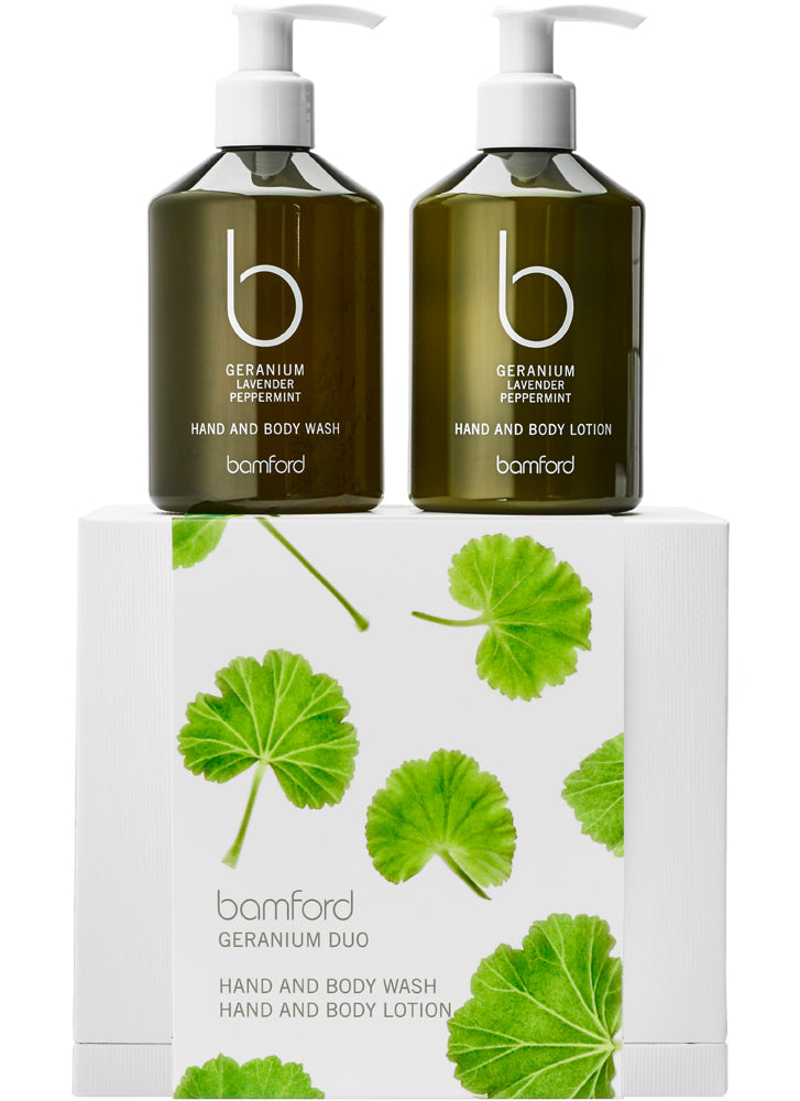 Bamford Geranium Duo Gift (worth £50)