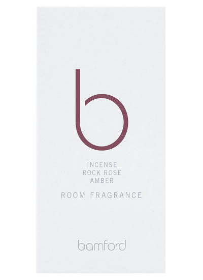 Bamford Incense Rock Rose Amber Room Fragrance