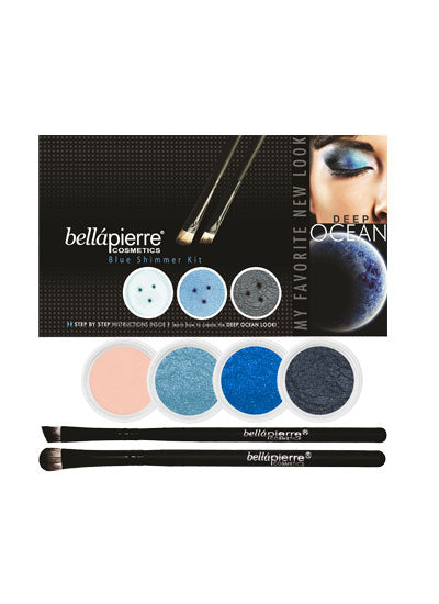 Bellapierre Kit Eye Shimmer Deep Ocean (worth £81)